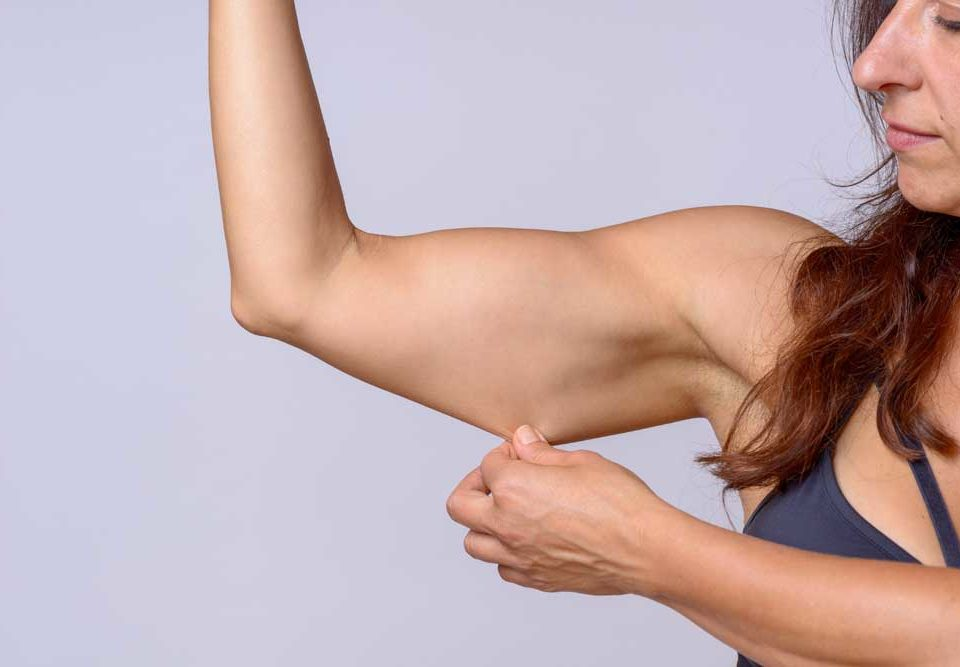 What are the causes of loose skin