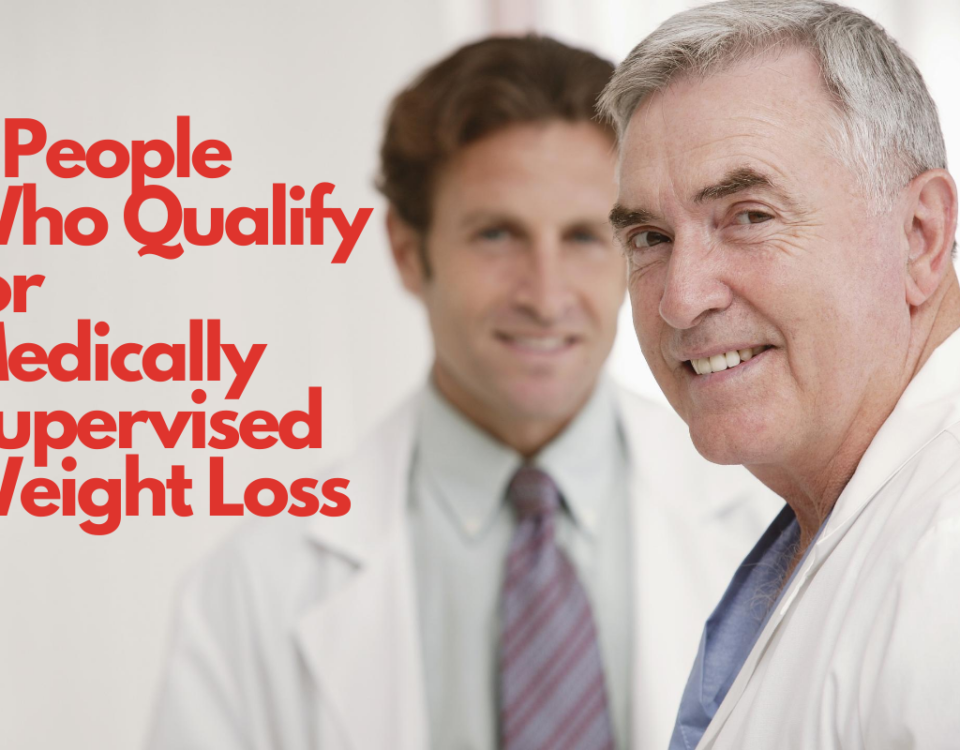 People who qualify for medically supervised weight loss