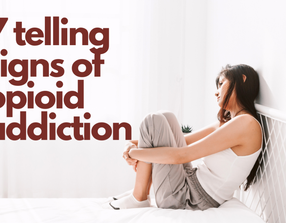 Telling signs of opioid addiction